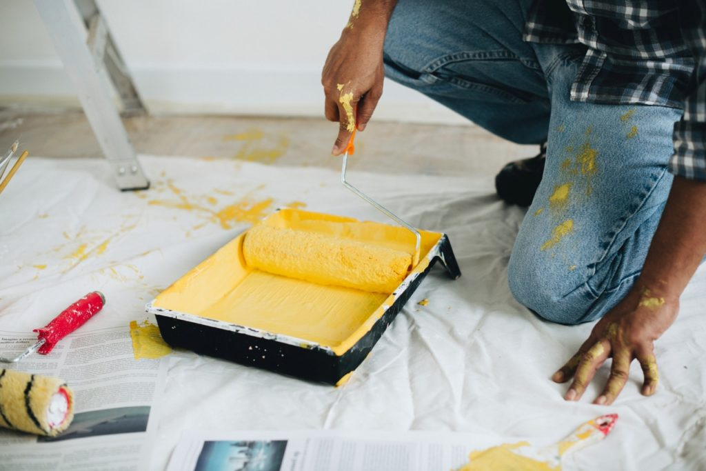 paint all walls to increase house value